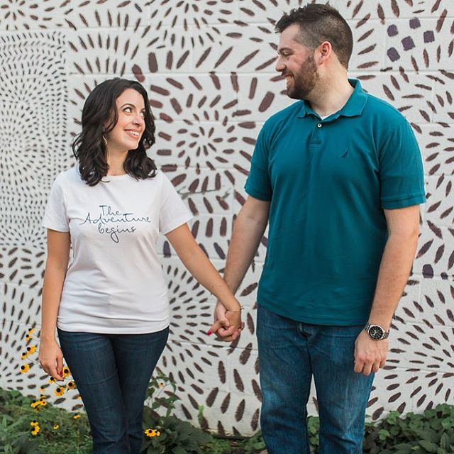 Happy wedding weekend Amanda and Kemp! We're looking forward to these two getting married tomorrow at @cadillacservicegarage! Image by @jennadiprima #adventuresofkempandamanda