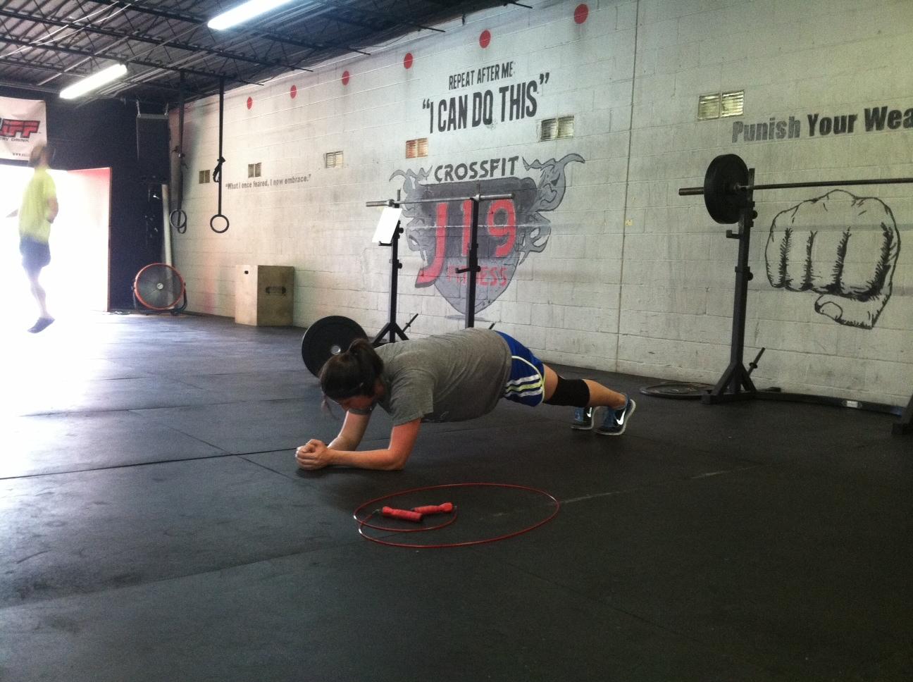 Bevin Planking.JPG