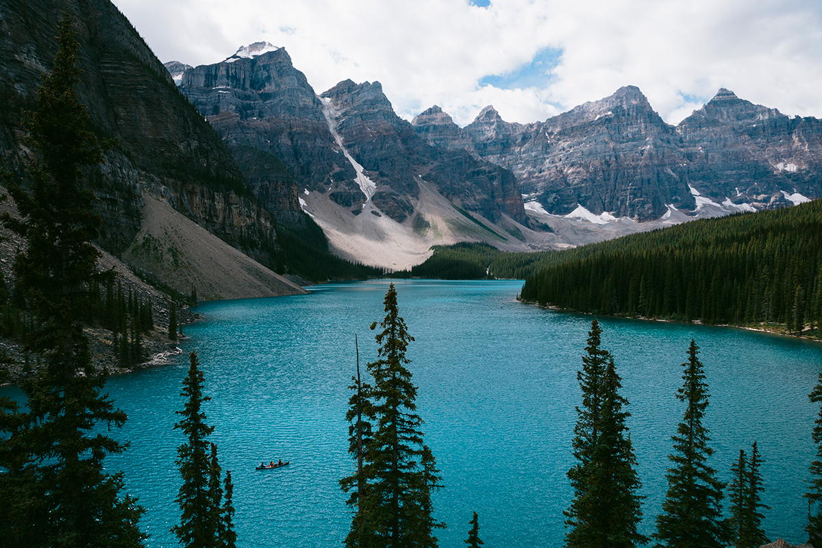 Lake Moraine, Banf National Park Canada