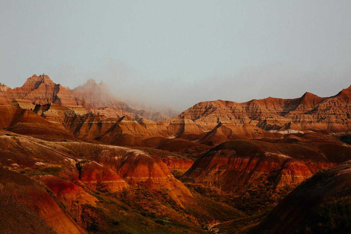 The Bad Lands South Dakota