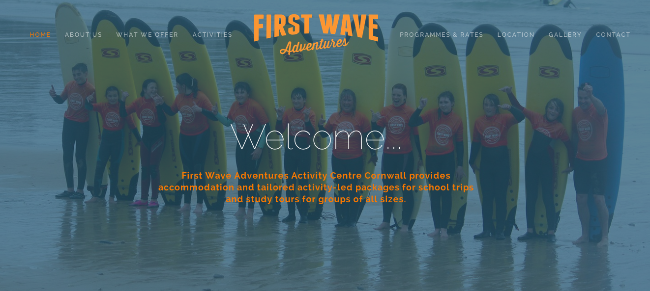 First Wave Adventures  Activity Centre In Newquay