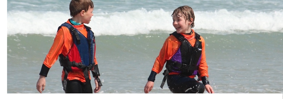 Develop new friendships in the surf