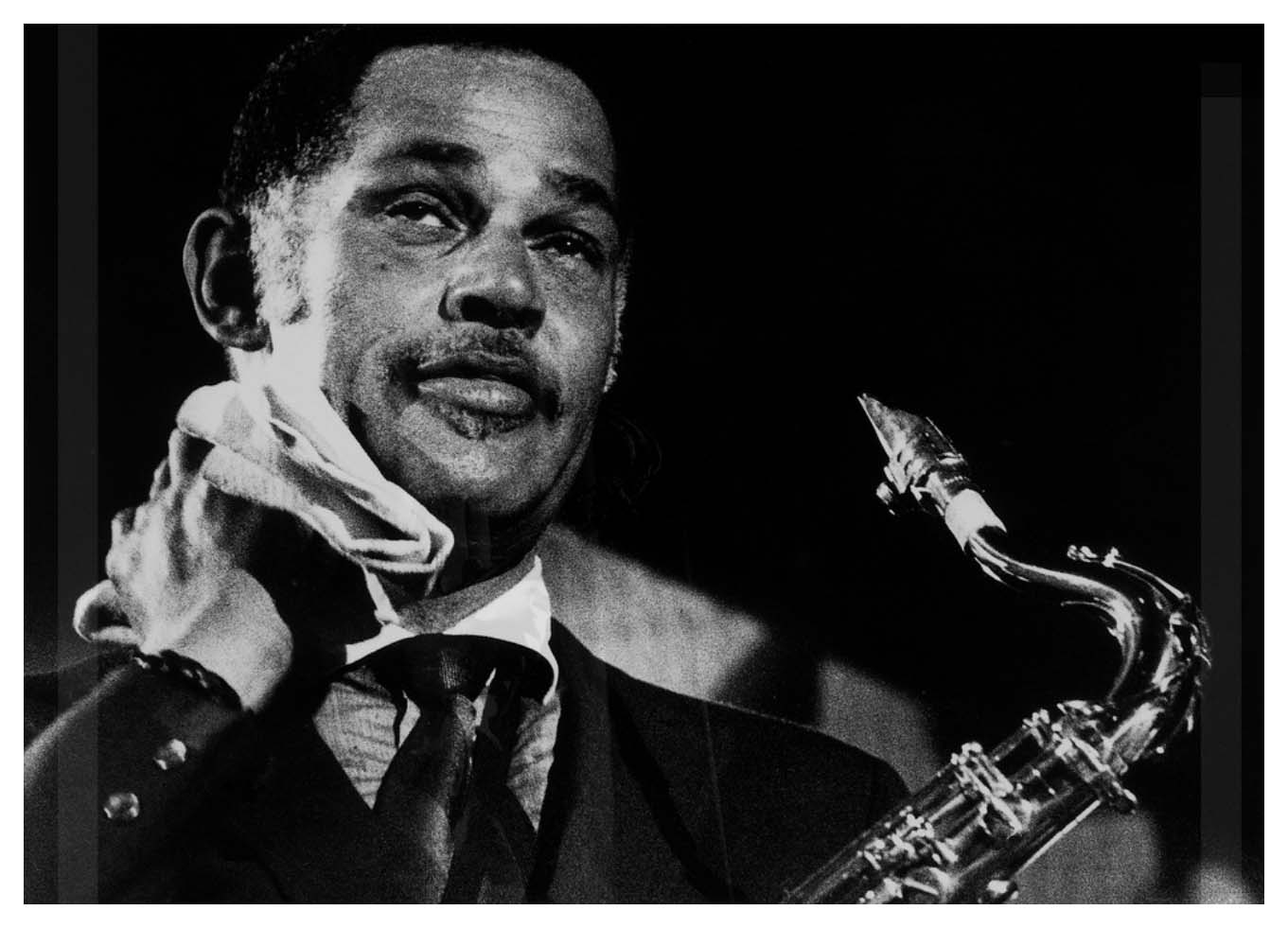 "Dexter Gordon   (February 27, 1923 – April 25, 1990) was an American   jazz   tenor saxophonist. He was among the earliest tenor players to adapt the   bebop   musical language of people such as   Charlie Parker  ,   Dizzy Gillespie  , and   Bud Powell   to the instrument. Gordon's height was 6 feet 6 inches (198 cm), so he was also known as ""Long Tall Dexter"" and ""Sophisticated Giant"". His studio and live performance career spanned over 40 years."