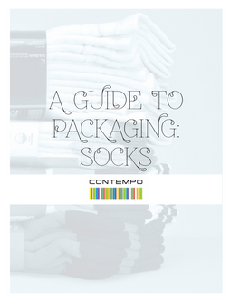The packaging you choose for your socks can make all the difference, considering most socks on the market today are very similar.