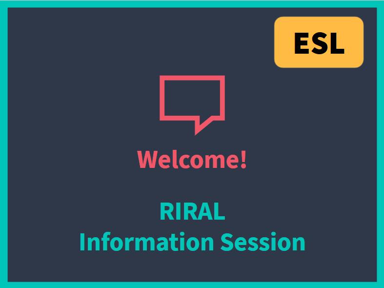ESL Registration - Info Session