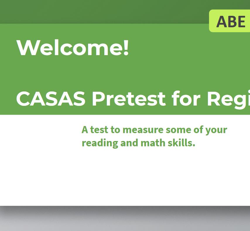 CASAS Pretest Presentation