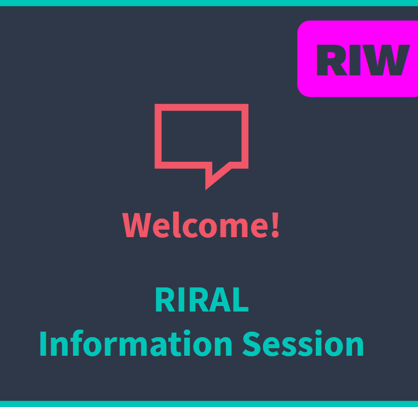 RIW Registration - Info Session
