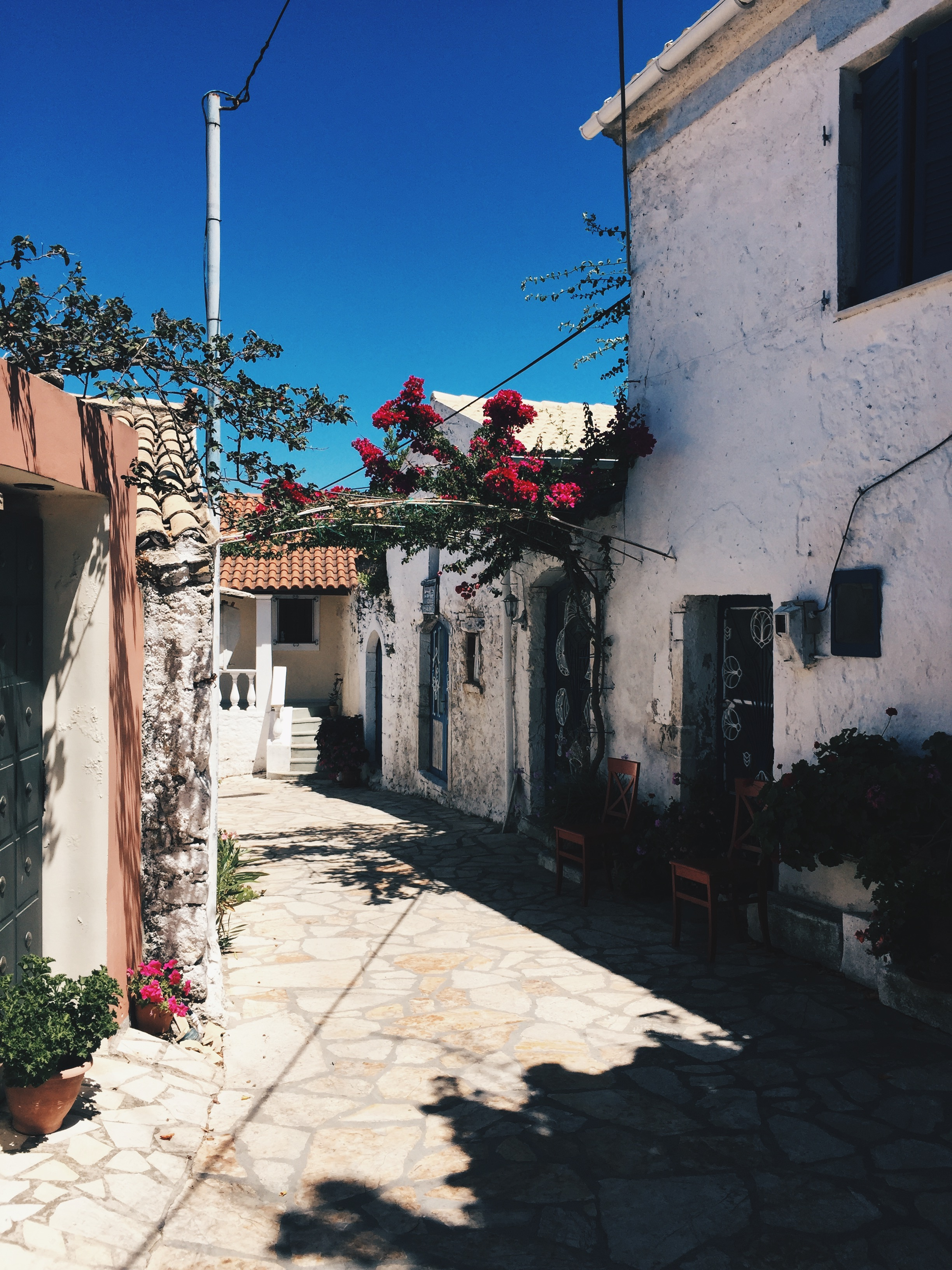 Quaint village named Afionas, Greece