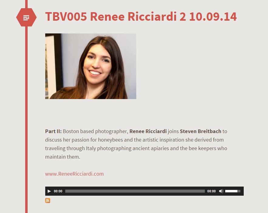 Renee Ricciardi Podcast California The Best Vibrance Hive Mind Pollen.jpg