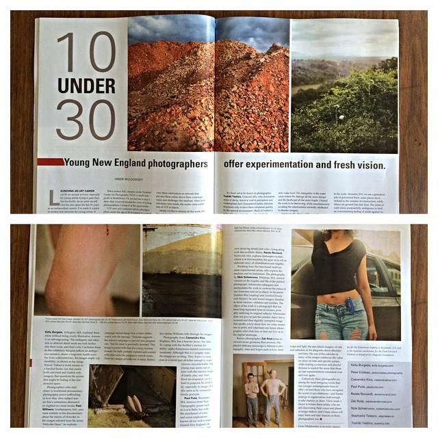 July 2015 Issue Art New England Magazine
