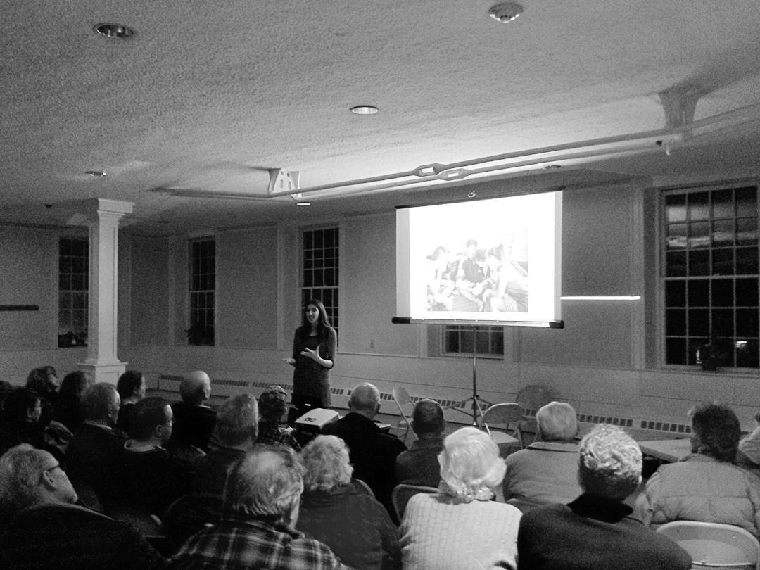 February 2016 - Renée Ricciardi speaking about her photographs.