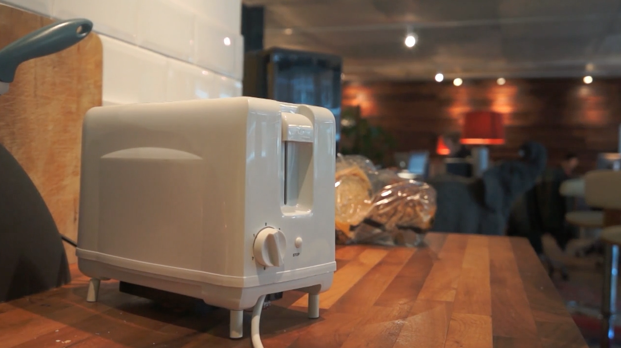 MOST UNCANNY    Addicted: The Story of Brad the Toaster  by  Simone Rebaudengo