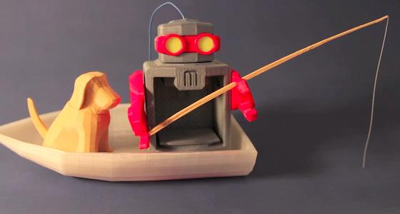 MakerBot Stop Motion Reel  byJoshua Friedman, MakerBot
