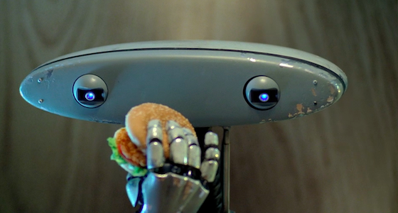 "Carl's Jr ""Robot""  by David & Goliath"