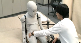 CB2: Child Robot with Biomimetic Body  by Tomoyuki Noda et al., Asada Synergistic Intelligence Project