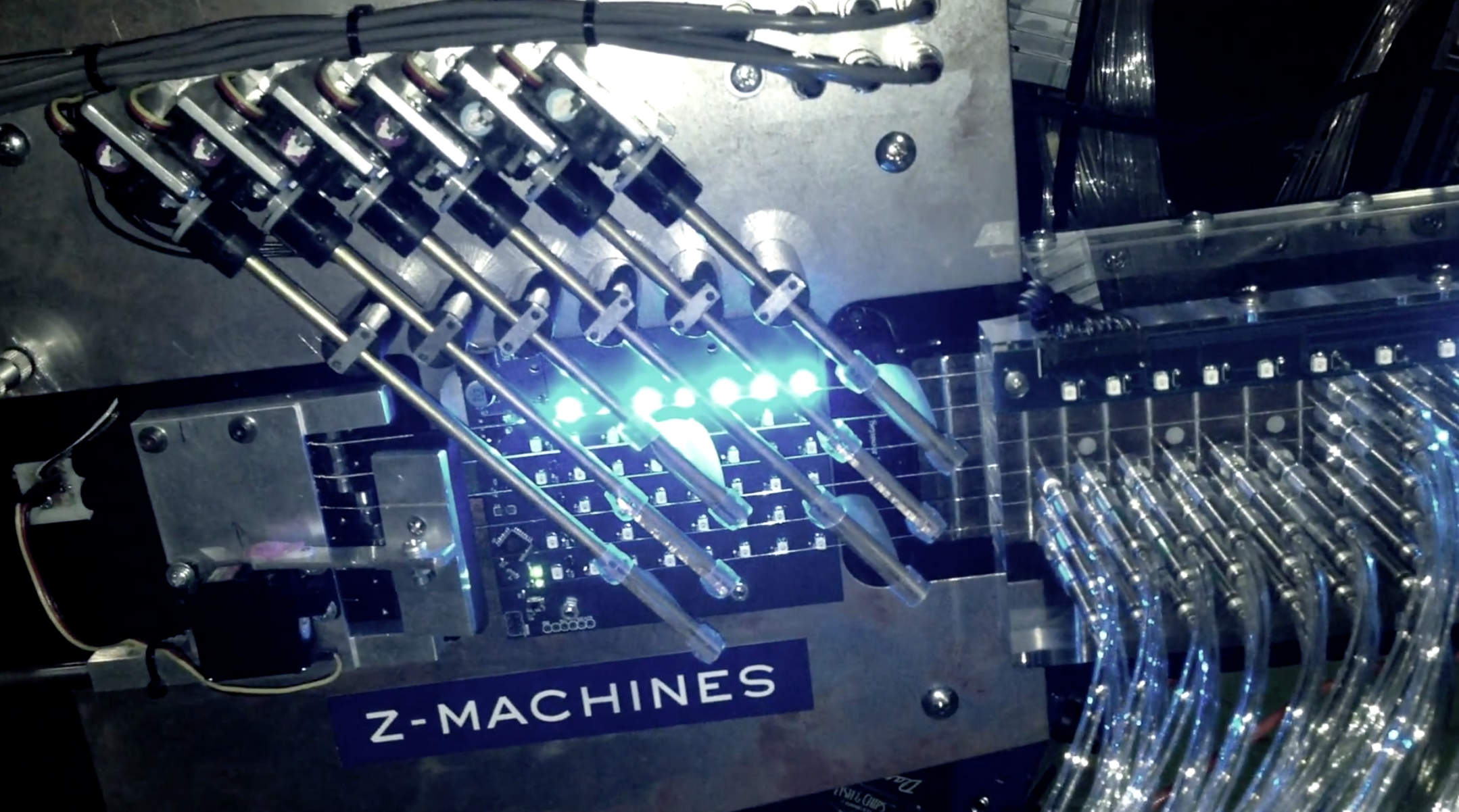 Making of 'Music For Robots'  by Squarepusher, Z-Machines, Warp Records