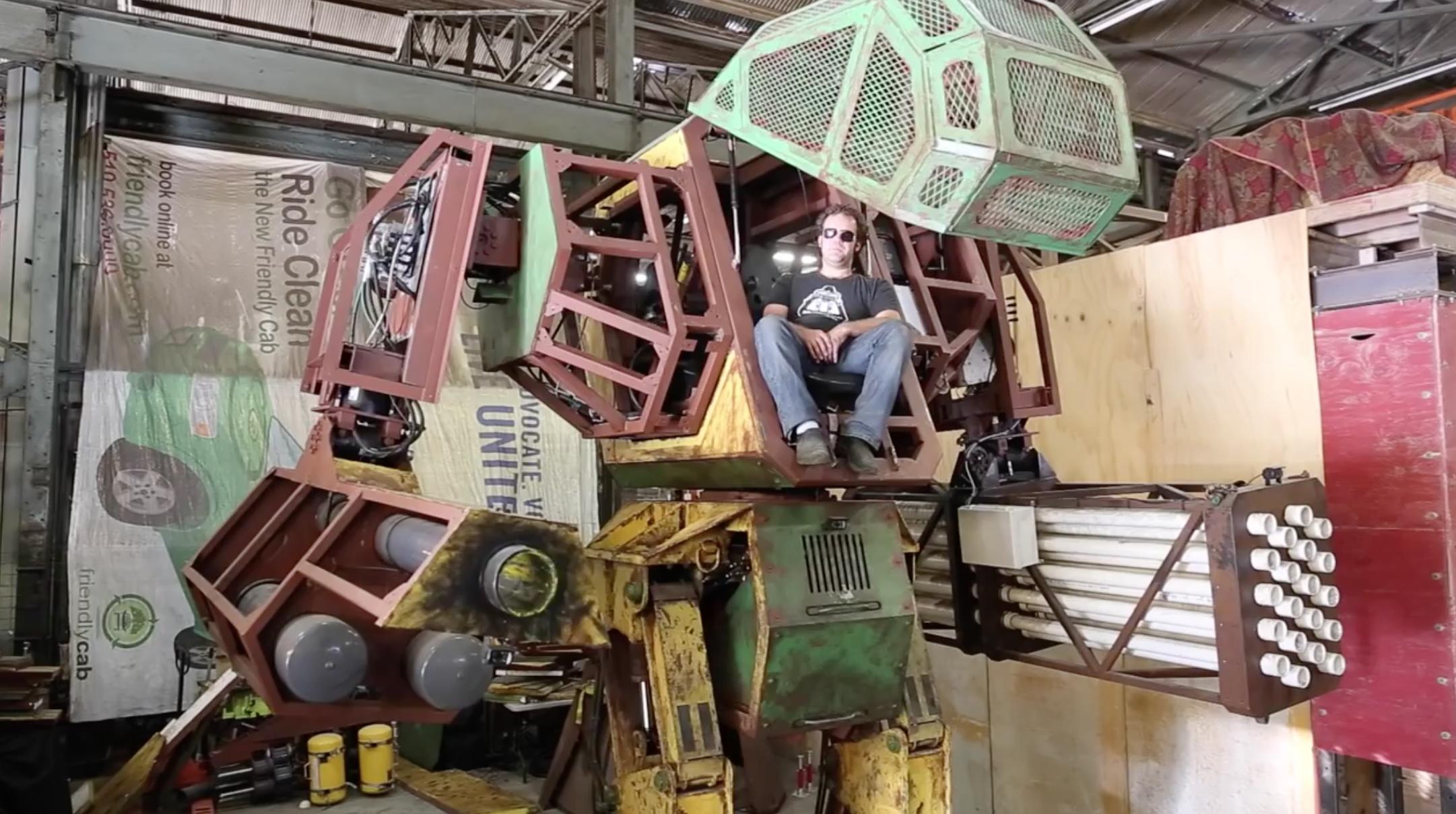Team USA Kickstarter for Giant Robot Duel  by MegaBots
