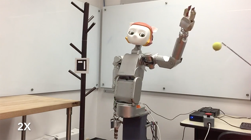 The Robot Dreamer Prevents Accidents from Occurring by Kwan Suk Kim, UT Austin Human Centered Robotics Lab
