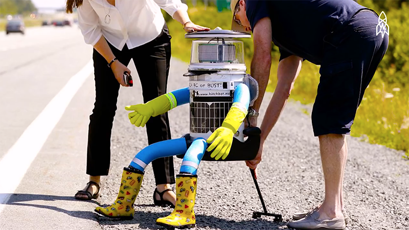How a Robot Hitchhiked Across Canada by Great Big Story, Canada Keep Exploring