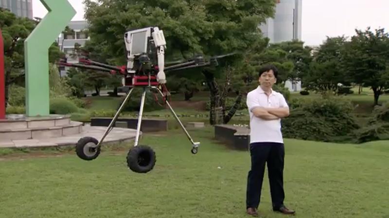 Robot Drone Man by KAIST