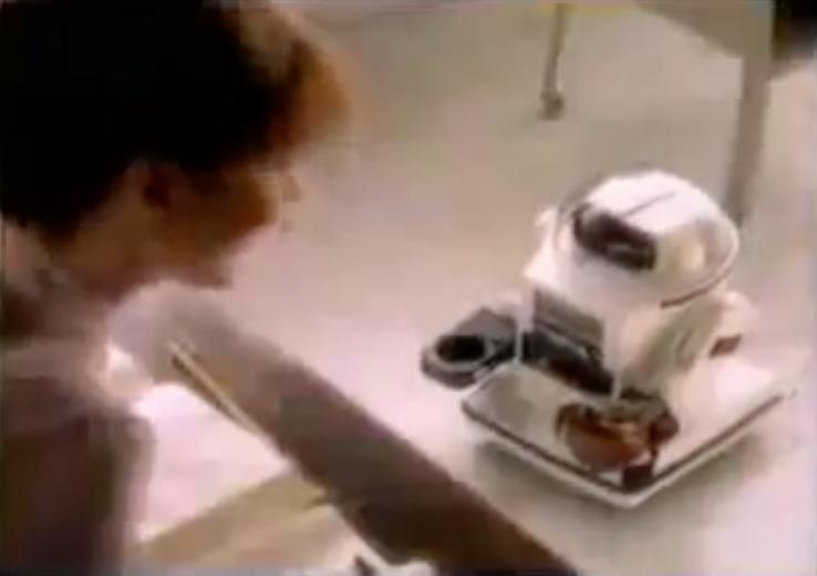 1982: Tomy Omnibot MK II