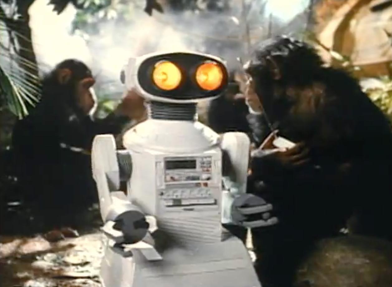 1984: Tomy Omnibot 2000