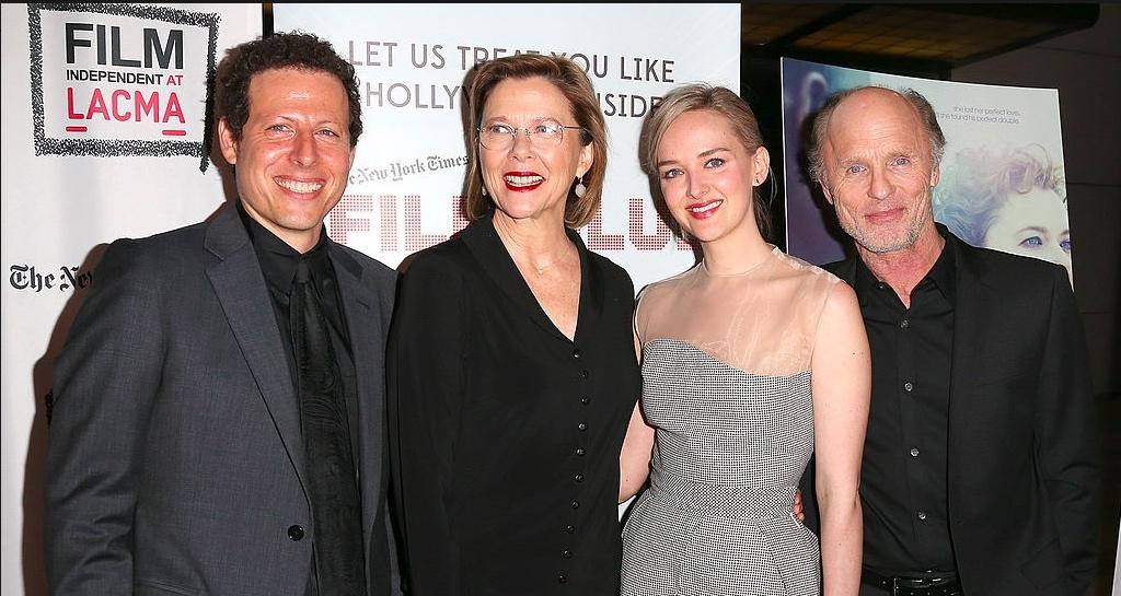 LA premiere at LACMA, with Annette Bening, Ed Harris, Jess Weixler