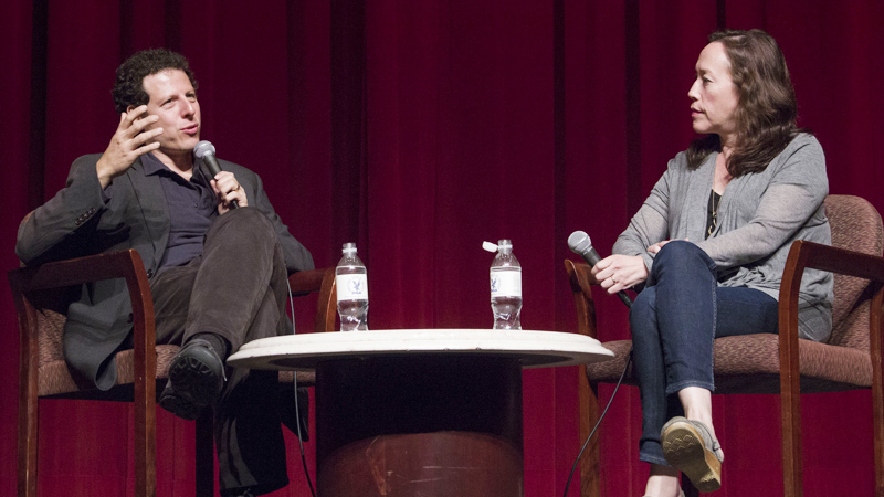During the Q&A following the screening for the Director's Guild (DGA), with director Karyn Kusama