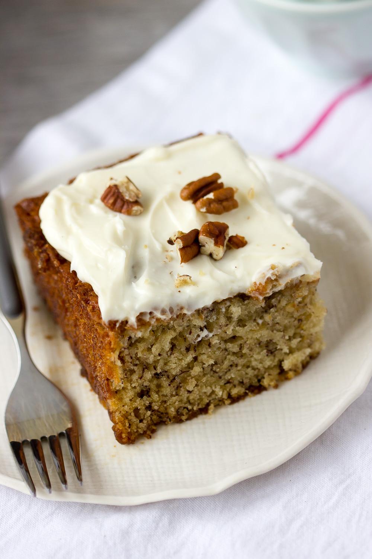 BEST BANANA CAKE EVER