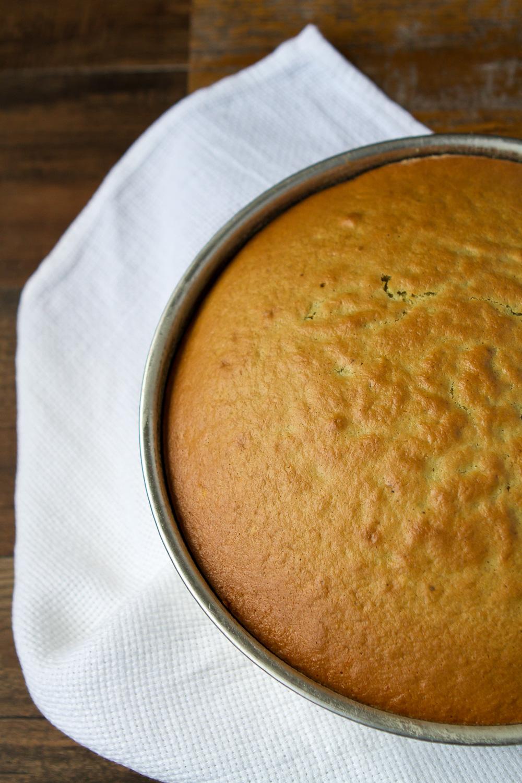 ORANGE SCENTED OLIVE OIL CAKE