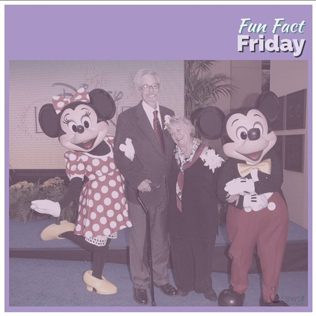Fun Fact Friday! 🤓  Did you know that in 1991, Wayne Allwine, the voice of Mickey Mouse, married Russi Taylor—the voice of Minnie? ••• #funfactfriday #cbwsfunfacts #disneyfacts #mickeymouse #minniemouse #charactervoices #cartoon #cartooncharacters #happiestplaceonearth #disney #disneyworld #disneyland #centerforbabywearingstudies #cbws
