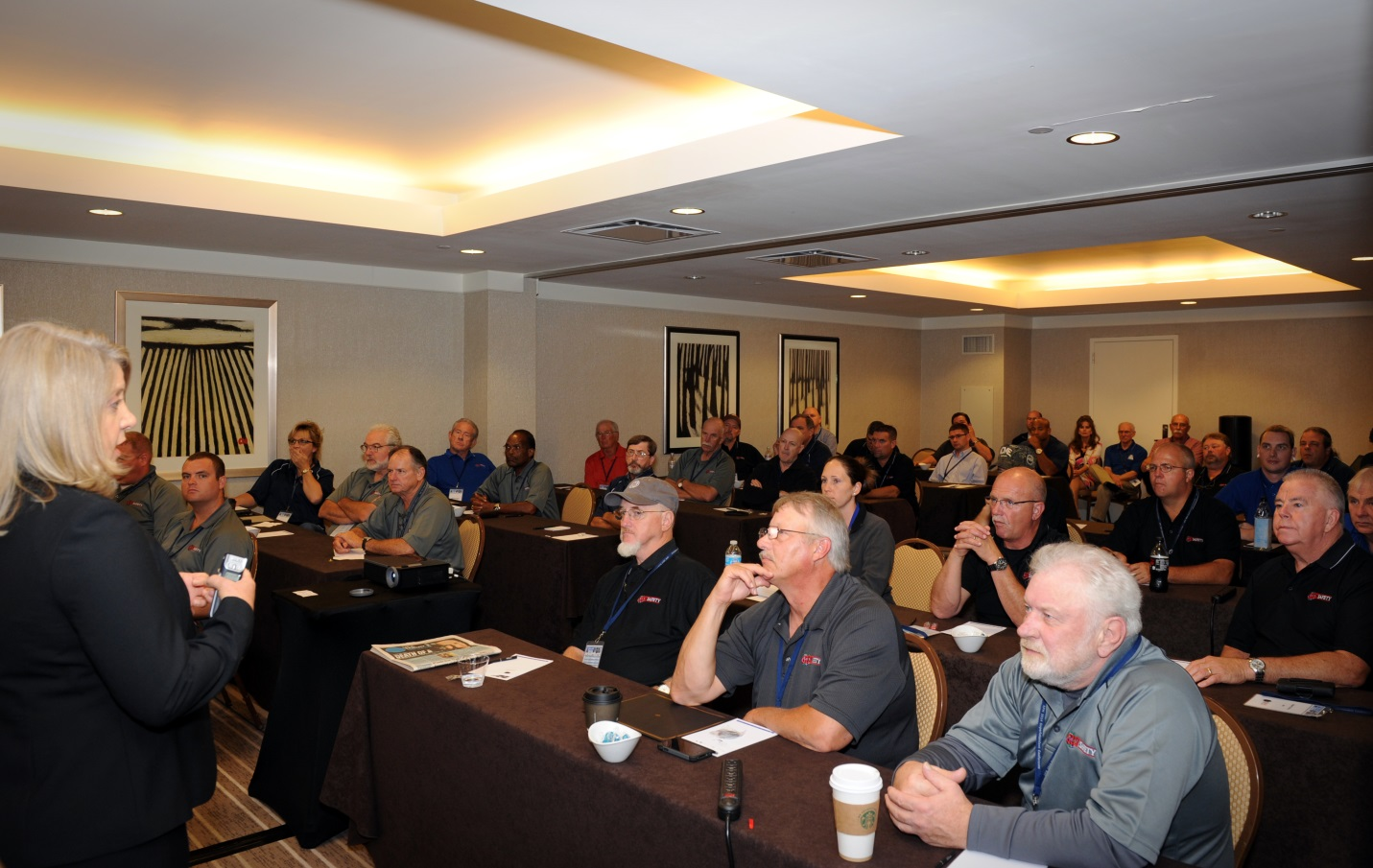 During their breakout, our GSSI team received an update from OSHA (Occupational Health & Safety Administration) Compliance Assistance Specialist, Joan Spencer.