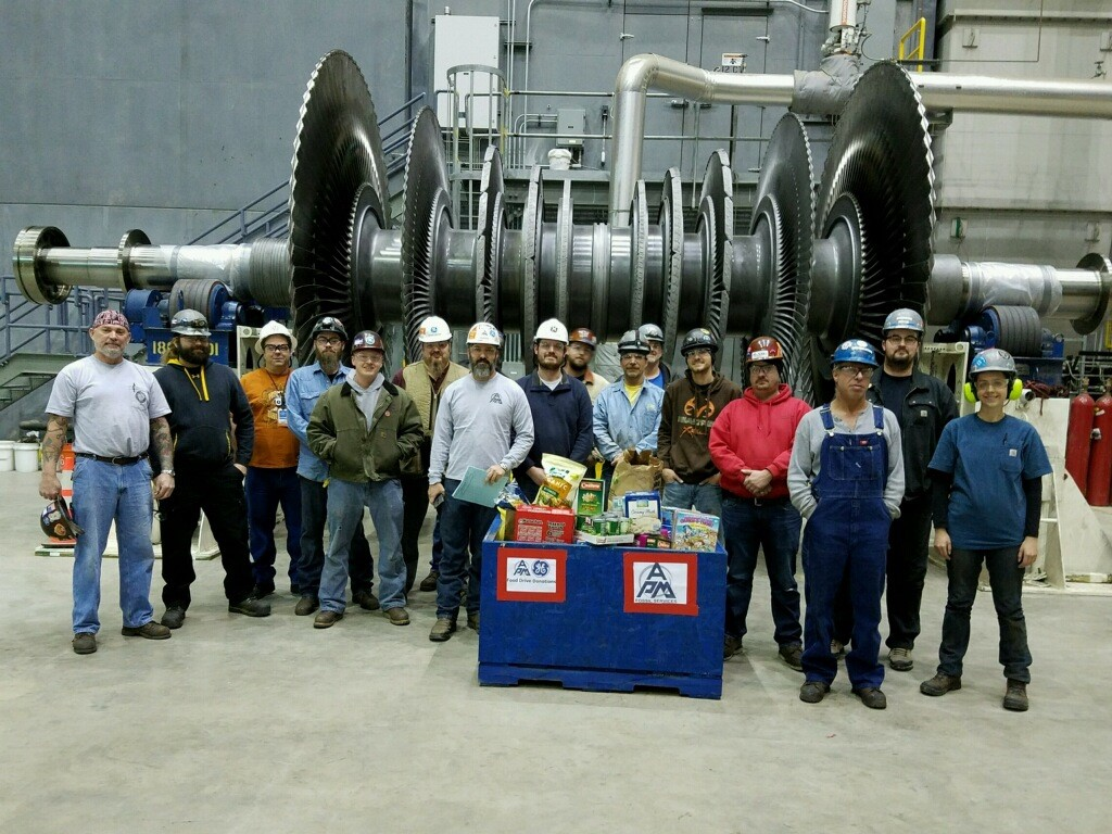APM and GE Night Shift - WE Energies, Port Washington Generating Station in Wisconsin