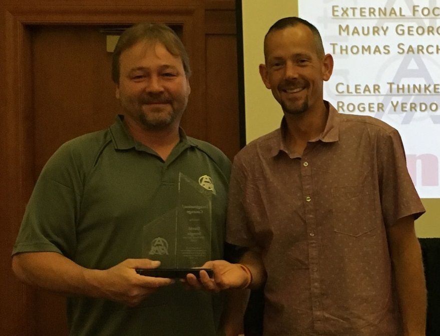David Sturgis - APM Fossil NorthImagination/CourageDavid (left) pictured with Eric Sielaff, Fossil North Director