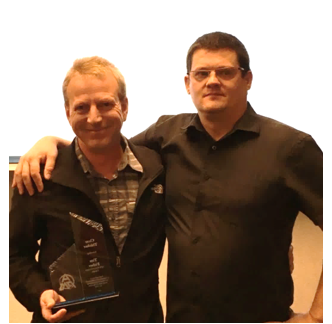 Tim Fisher - APM CanadaClear ThinkerTim (left) pictured with Ben Jonas, APM Canada Director