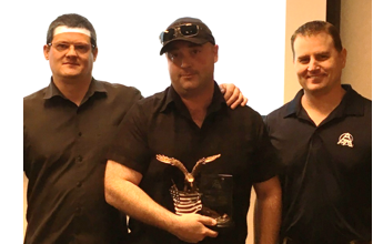 Jeremy Johnson - APM CanadaPresident's AwardJeremy (middle) pictured with Ben Jonas, APM Canada Director (left) and Eric Distler, APM GM (right)