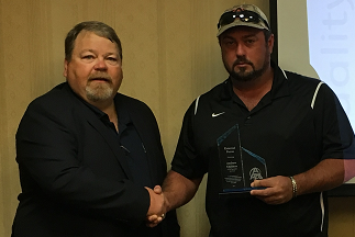 Andrew Childers - Specialty ServicesExternal FocusAndrew (right) pictured with Andy Mills, Fossil South Director