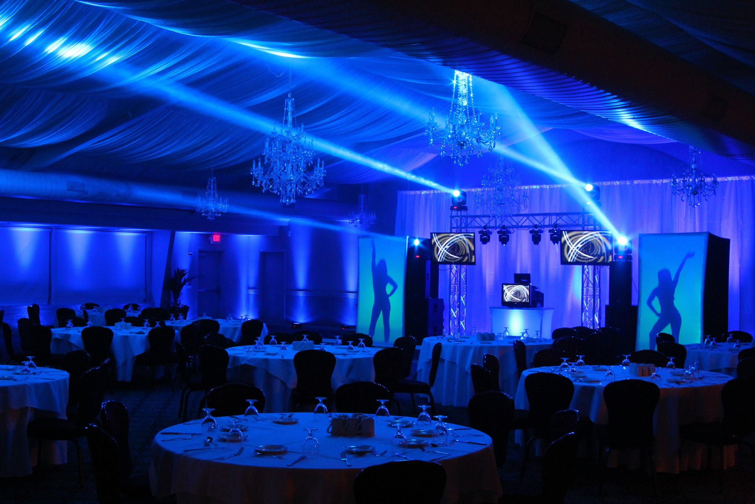 LION VJ PACKAGE Saturate the room in brilliant lights and make a real impact.