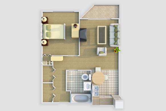 Harmony Court Estate 1 Bedroom Suite - The Linden.jpg