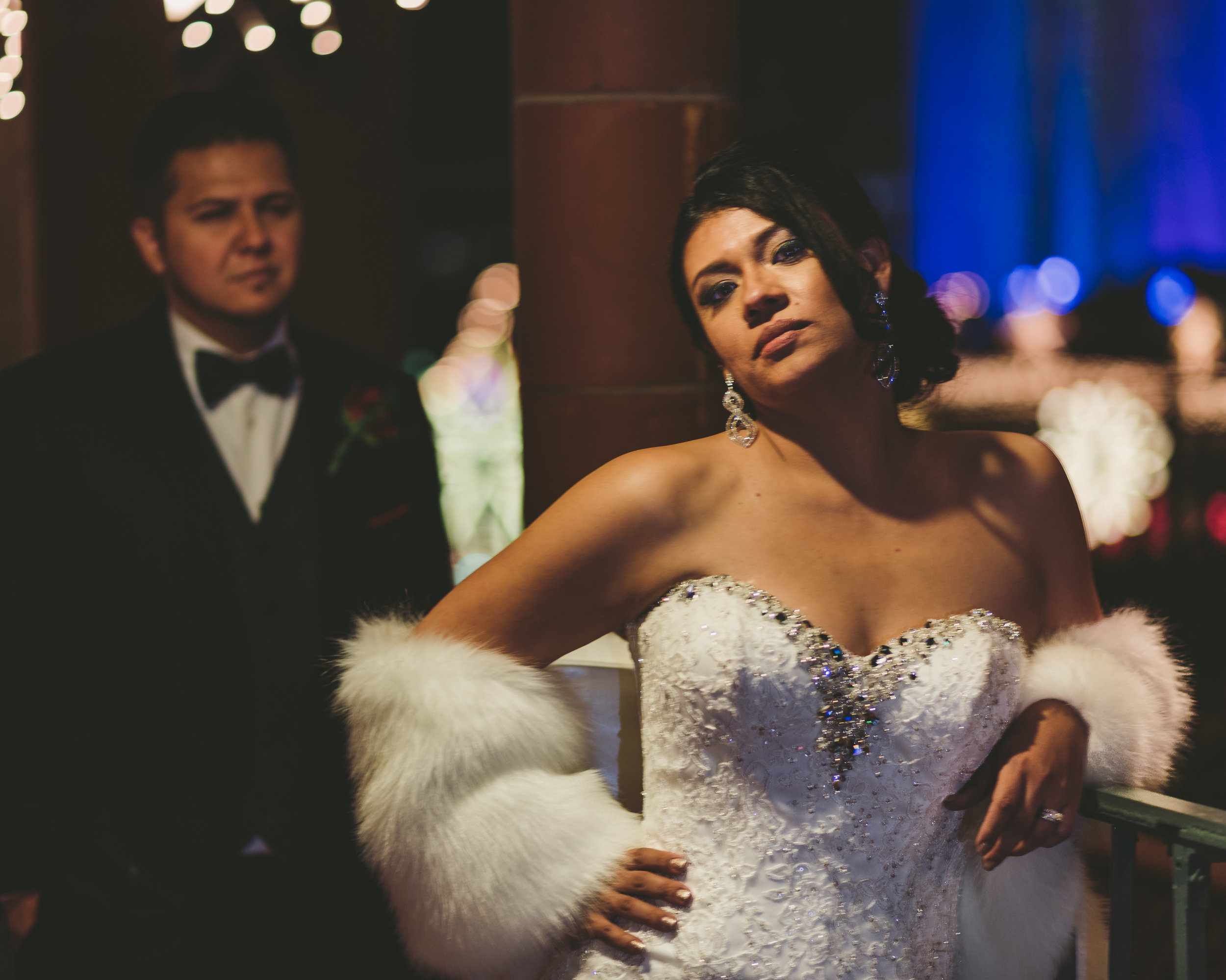 Feature Wedding - 1920's with a Modern Flare