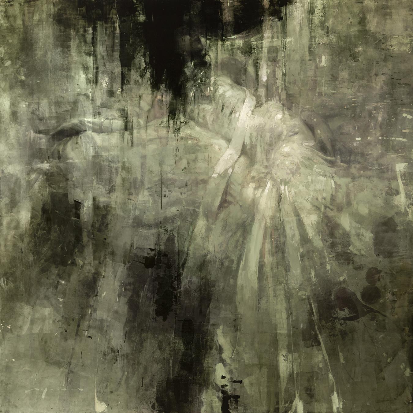 """""""Oblivia Ferma"""" - 48 x 48 in. - Oil on Panel - March 2019"""