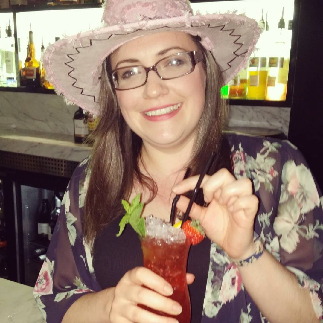 (Photo from last night rounding off my twenties with cocktails! So much fun!)