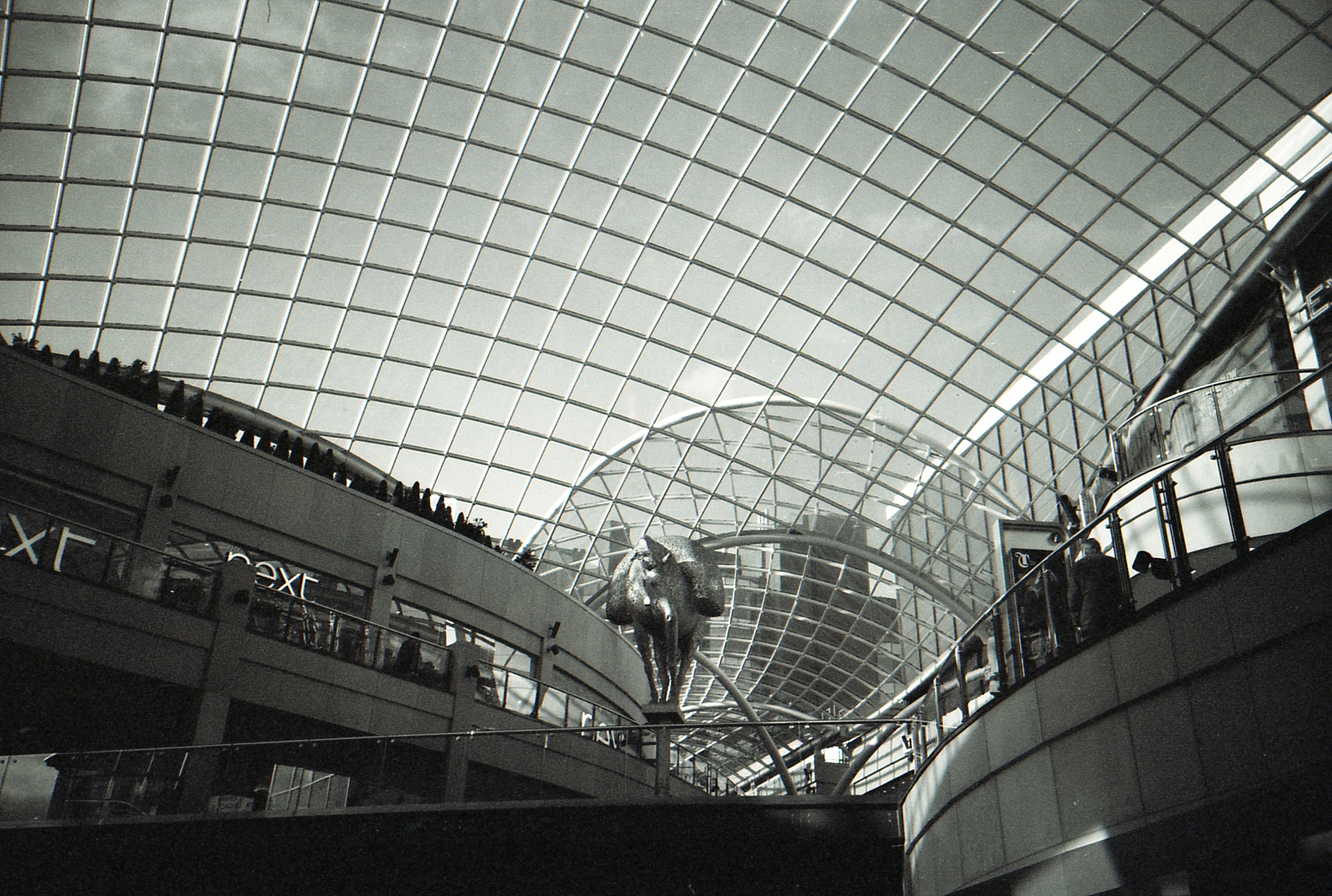 28/366 - The new Trinity shopping center in Leeds