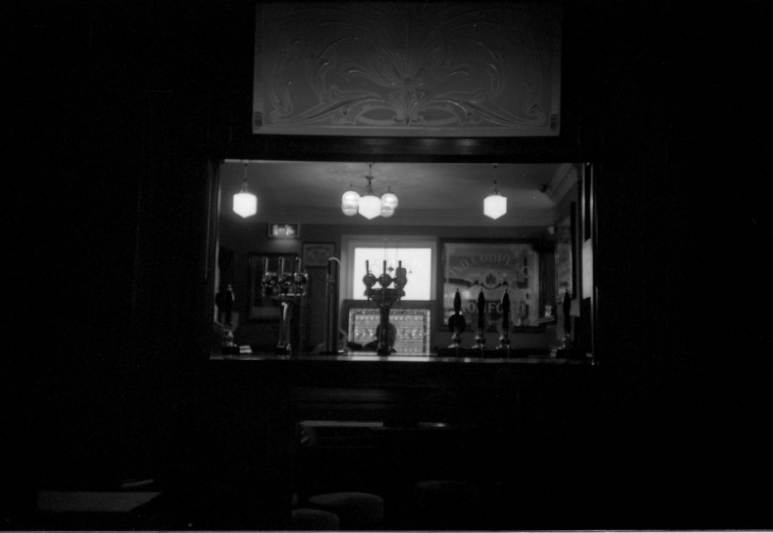 29/366 - We went for a nice drink in our local pub. I'm really pleased this photo worked, it felt risky ha.