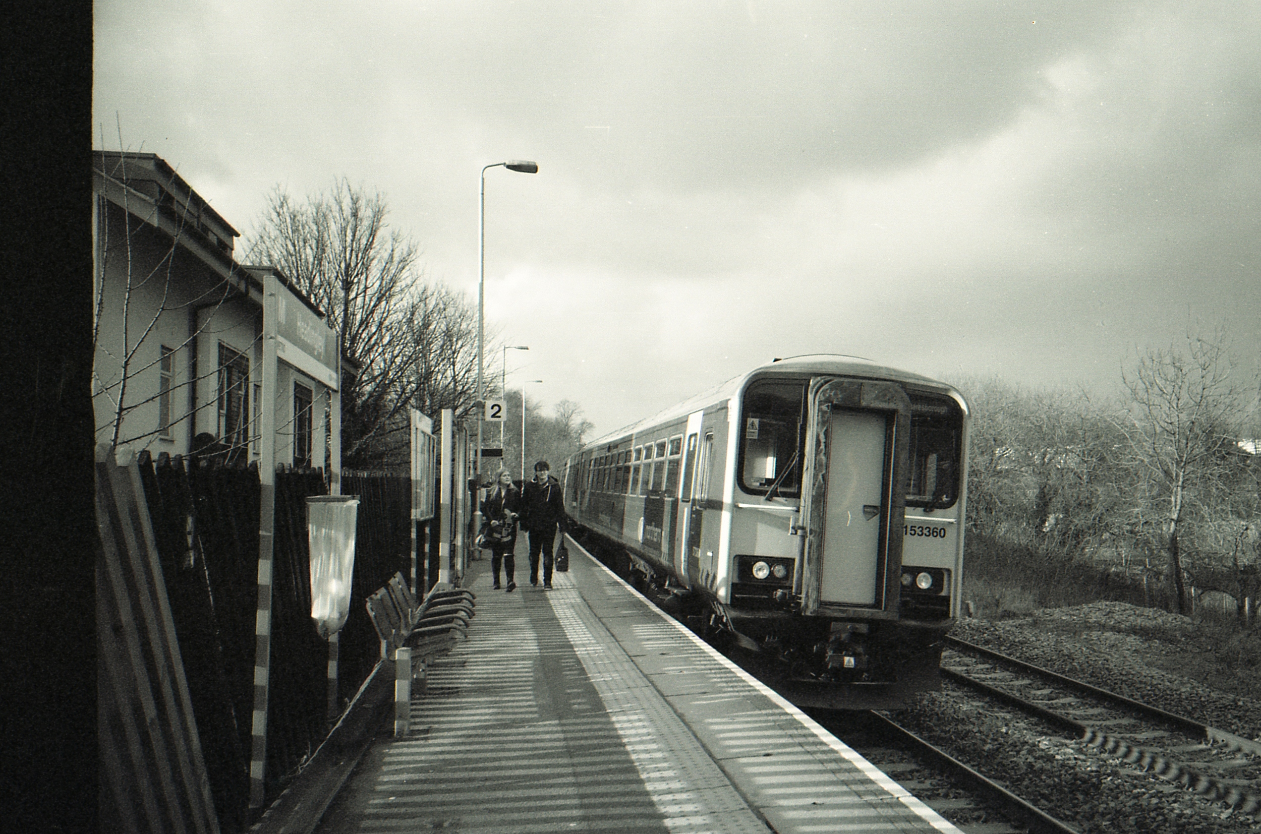 30/366 - I catch the train at least 5 days a week, I'm surprised this is the first train photo of the project