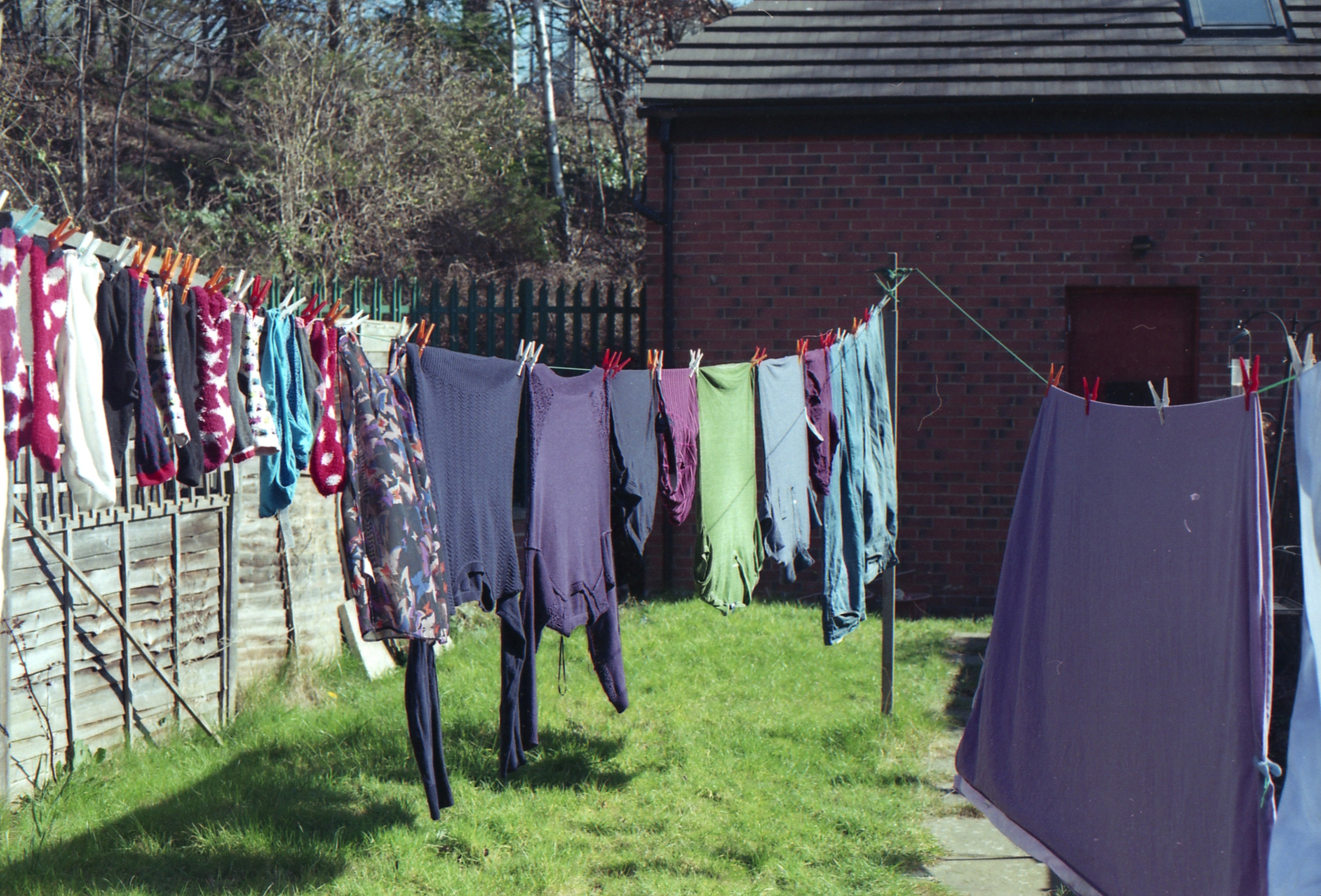 80/366 - An easy one! Our first hanging of clothes outside this year which always makes me super happy.