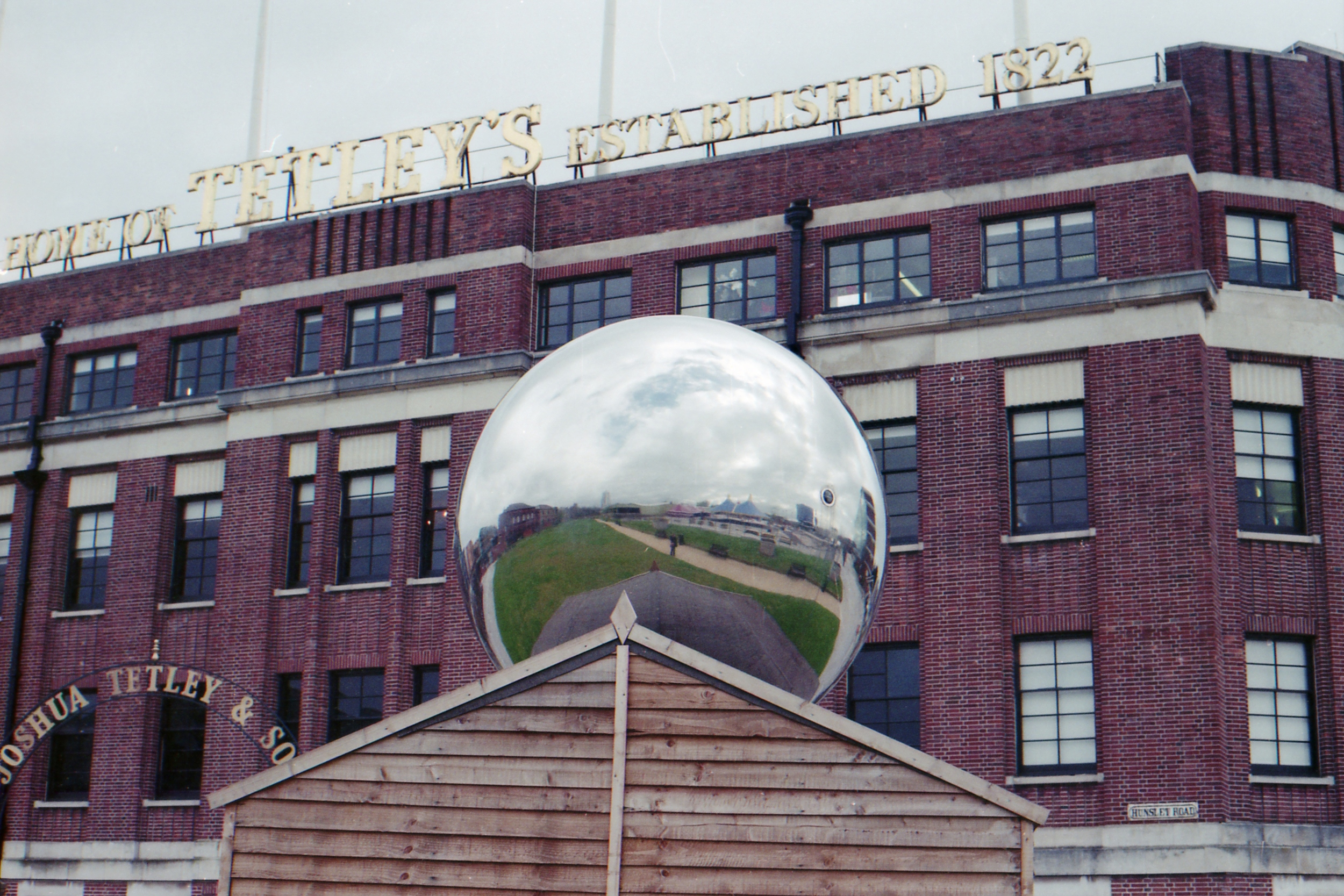 Day 116 - An art installation at the Tetley building in Leeds.