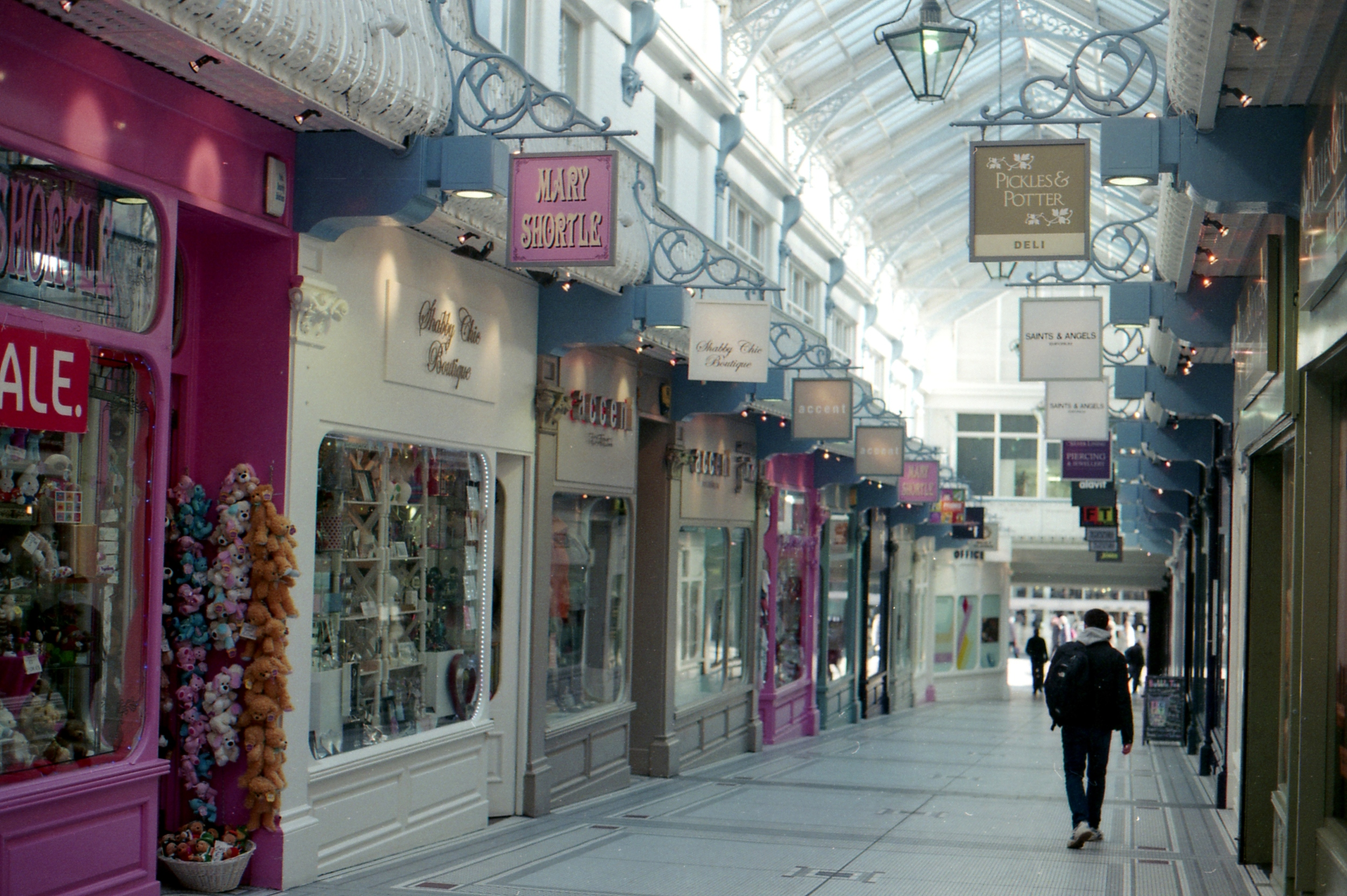 140/366 - Another one of Leeds shopping arcades
