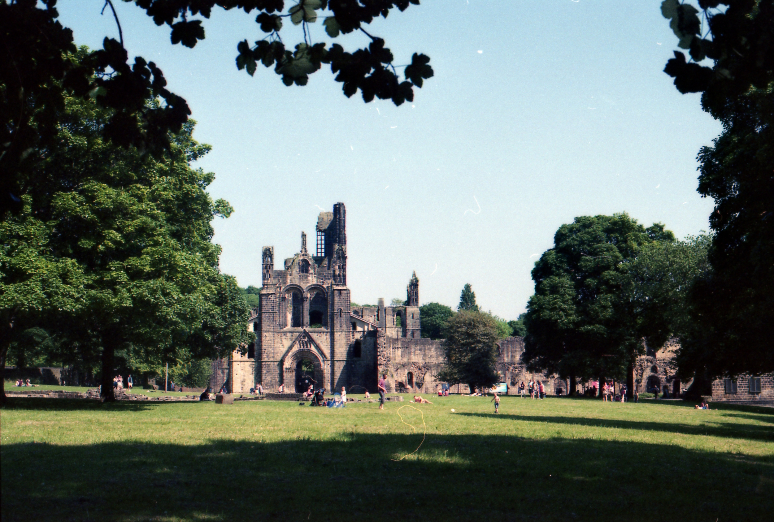 157/366 - A glorious day, so we went for a walk at the Abbey <3