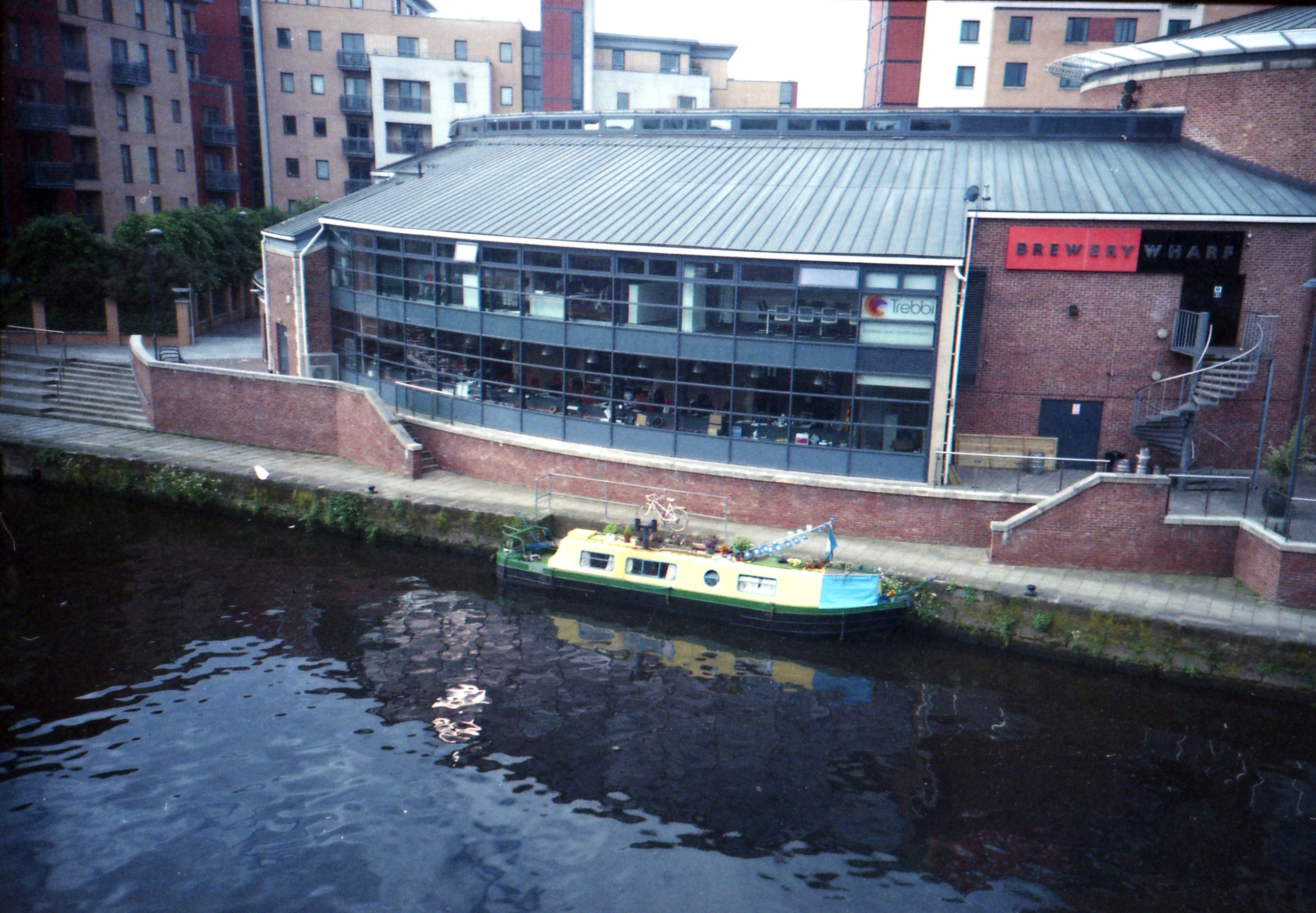 173/366 - The cutest boat docked on the canal!